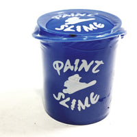 Paint Bucket Blue Slime Plastic Container Shaped Like Bucket Of Paint 3.17 oz Of Liquid Goop