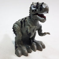 "Dino World Dinosaurs Mini Grey Tyranosaurus Rex Moving 4"" Wind Up Toy"