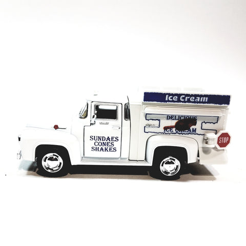 Kinsmart 1956 Ford F-100 Delicious Ice Cream Truck 1/38 Scale Diecast