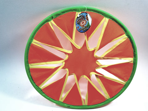 Air Max Orange & Green Extreme Flyer Park/Backyard Flying Frisbee Toy
