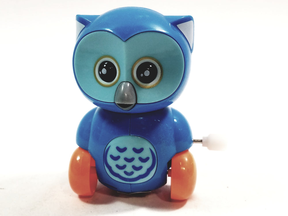 Cute Cartoon Owl Mini Powder Blue Owl Moving 3.5