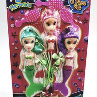 My Mermaid 8 Piece Doll Set With Diorama Accessories