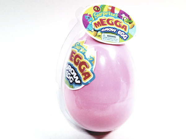 Surprise MEGGA Grow Egg Pink Shell With Secret Toy (Unicorn Or Mermaid) Inside