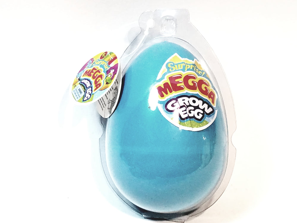 Surprise MEGGA Grow Egg Blue Shell With Secret Toy (Unicorn Or Mermaid) Inside