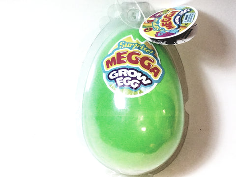 Surprise MEGGA Grow Egg Green Shell With Secret Toy (Unicorn Or Mermaid) Inside