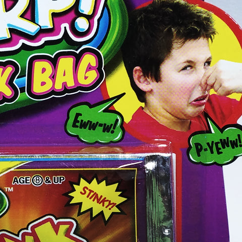 FLARP Stink Bag 3 Smelly Bags Of Nasty Smelly Fun Novelty Toy