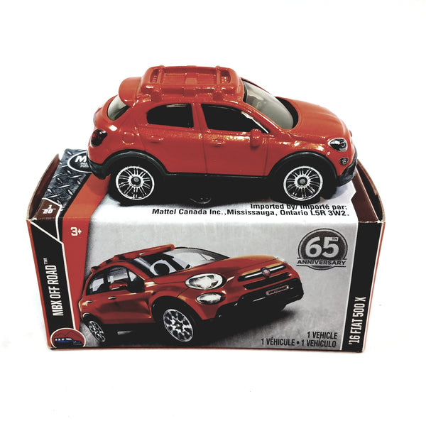 Matchbox 65th Anniversary Red 2016 Fiat MBX Off Road 1/64 S Scale NYC Diecast SUV