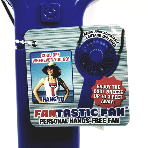Fantastic Fan Peronal Handheld Rechargeable Battery Micro USB Fan With Lanyard And Micro USB Cord