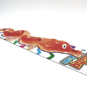 Thats Gross Orange Sticky Stretchy Fake Life-Size Rubber Snake