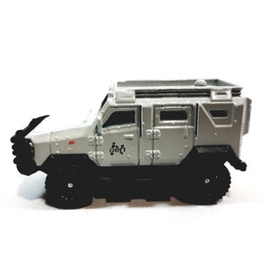 Matchbox Limited Jurrasic World Legacy Edition 2010 Textron Tiger FMX14 Truck 1/64 S Scale Diecast