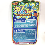 Dive Fun Diving Toy Collection 6 Pack Toss In Water Pool/Beach Accessories