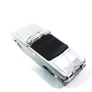Matchbox 65th Anniversary Silver Volkswagen VW Type 34 Karmann GHIA Conv 1/64 S Scale Diecast