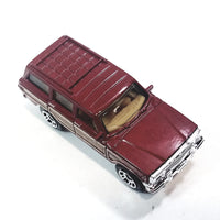 Matchbox 65th Anniversary Red Jeep Wagoneer MBX Road Trip 1/64 S Scale Diecast Car