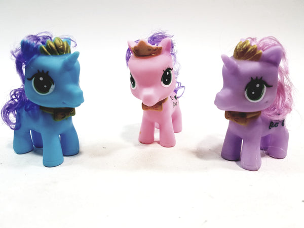 Cathay Collections Fashion Dolls Cute Beauty Horse & Unicorn 3 Piece Doll Set