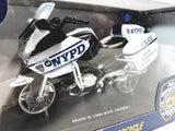 Daron NYPD BMW R 1200 RT-P Police DEPT Patrol Motorcycle York City Diecast/Plastic 1/18 Scale Motorbike