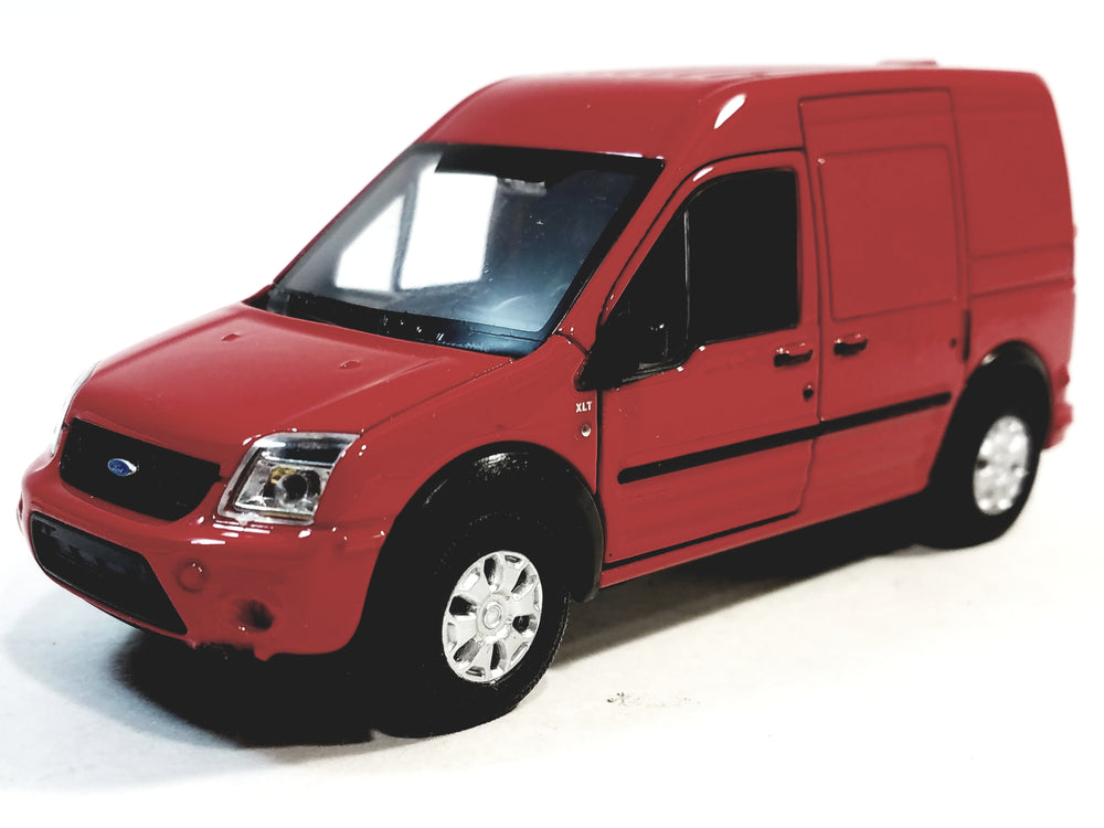 Welly Red Ford Transit Connect Minivan 4.5