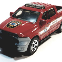 Matchbox Limited Red Ford-150 Fire Department Truck1/64 S Scale Diecast Truck
