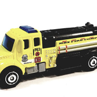Matchbox Limited MBX Fire Department Tanker1/64 S Scale Diecast Truck