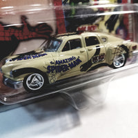 Johnny Lightning The Amazing Spiderman White 1948 Tucker Torpedo Collectors Edition 1/64 Scale Diecast Car