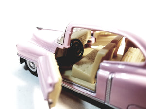 Kinsmart Cadillac Series 62 1953 Cotton Candy Pink 2 Door Coupe 1/43 O Scale ...