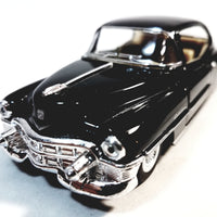 Kinsmart Cadillac Series 62 1953 Black 2 Door Coupe 1/43 O Scale Diecast Car