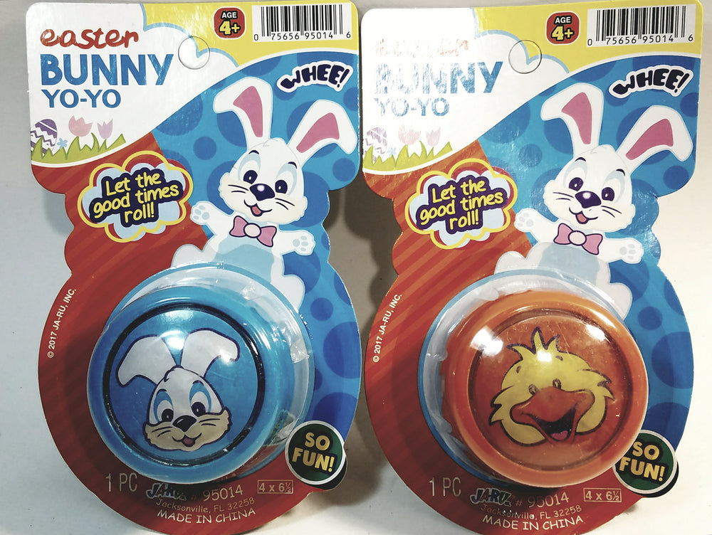Easter Bunny And Duckling Yo-Yo Set Of Rabbit & Duck Yo-Yo Retro Toy