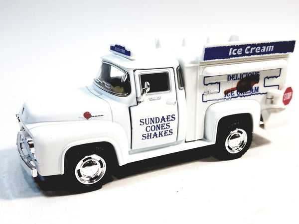 Kinsmart  Ford F-100 1956 Delicious Ice Cream Truck 1/38 Scale Diecast