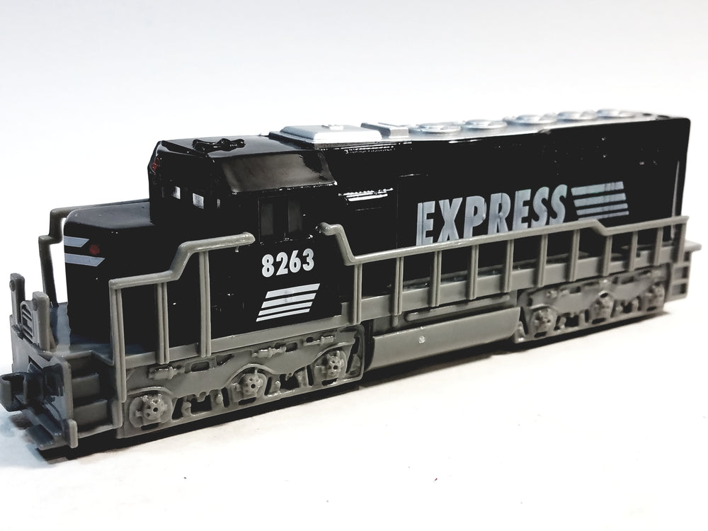 SF Toys Freight Loco Power EXPRESS Black & Gray Locomotive 7