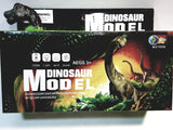 "Prehistoric Dinosaurs Model Green Brontosaurus B/O Walking 6"" Lights & Sound Figure"