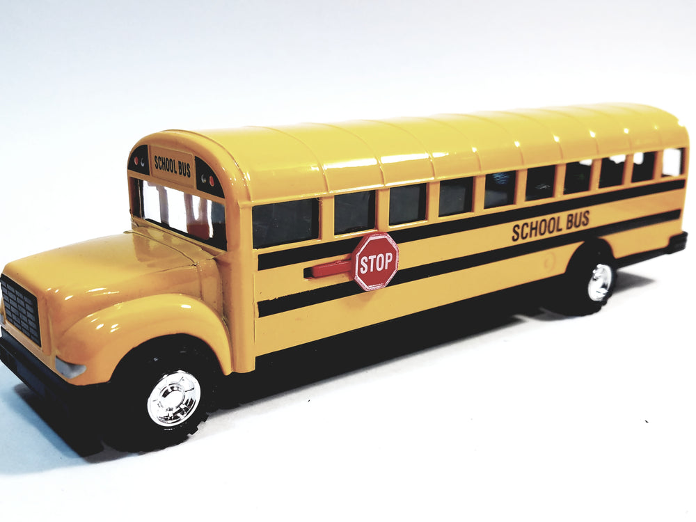 SF Toys Classic Large  Yellow Public City School Bus 8.5
