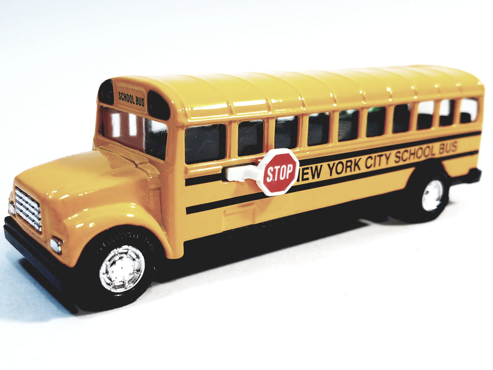 SF Toys Classic Yellow Public New York City School Bus 5