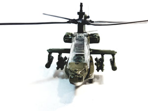 Showcasts Collectibles Boeing AH-64 Apache Longbow Military Aircraft 1/100 Scale Diecast Helicopter