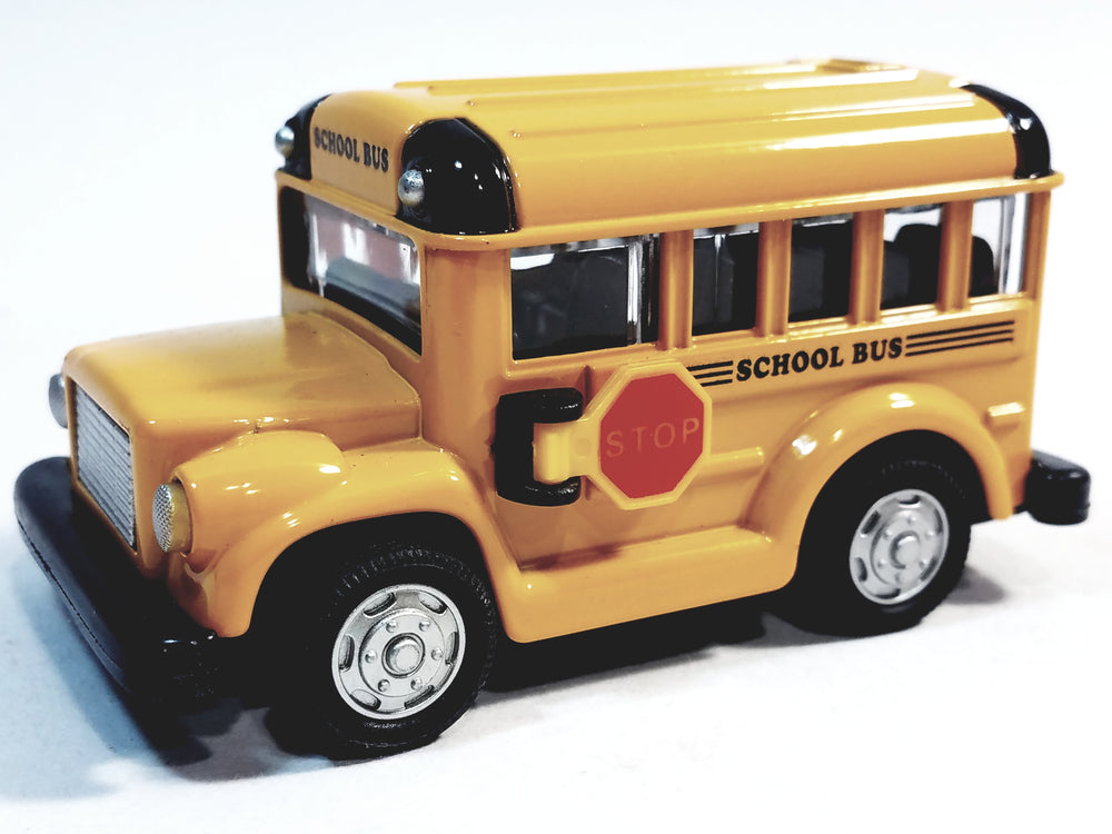 SF Toys Classic Short Yellow Public City School Bus 4