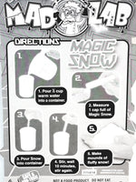 Dr Wacko Mad Lab Magic Snow Test Tube Icy Slush In Beaker