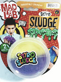 Dr Wacko Mad Lab Styro Sludge Lemon Yellow / Plum Purple 40g in 5oz Container of Goop Free Game