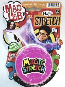 Mad Lab Dr Wacko Magic Stretch Cotton Candy Pink Putty 80g Large Plastic Container of Goop