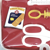 Heroes Emergency Medic Bag /Nurse/Doctor Plastic 9 Piece Small Playset