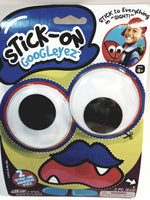 Stick-On Googleyez Eyes Set Of 2 Huge Eyes