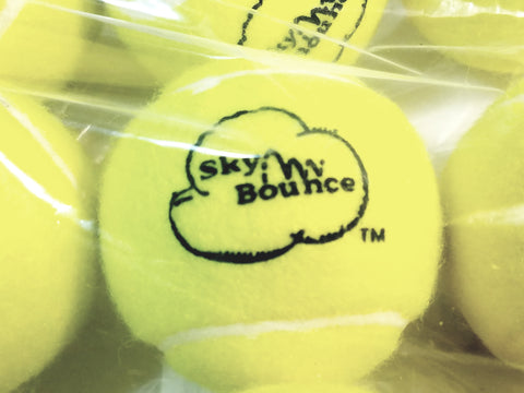 Sky Bounce Tennis Ball Set Of 12 (1 Dozen) Balls (Green)