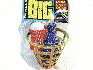 Really Big Mega Click & Catch 2 Player Ball Toss Game Backyard/Pool/Beach Toy