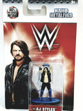"Jadatoys WWE Nano Figures 1"" Wrestling Star AJ Styles Action Figure"