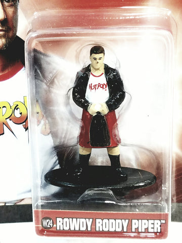 "Jadatoys WWE Nano Figures 1"" Wrestling Star Rowdy Roddy Piper Action Figure"