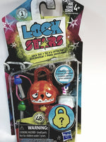 Lock Stars Series 1 Orange & Red Dragon Lock Two Keys & 2 Mystery Charms