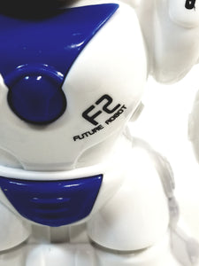 "Future Robot F2 Toddlers First Mini 3"" Friction Blue ROBOT"