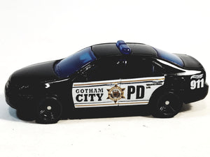 Matchbox Limited Batman Black & White Gotham City PD Ford Fusion 1/64 S Scale Diecast Car