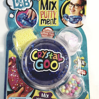 Mad Lab Magical Mixputtyment Blue Crystal Goo 80g Large Plastic Container of Goop & Accessories