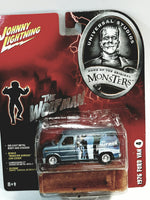 Johnny Lightning Universal Studios Monsters #4 Wolfman 1976 Ford Can 1/64 Scale Diecast Car