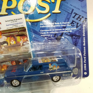 Johnny Lightning #5 Saturday Evening Post 1964 Ford Falcon Sedan Delivery 1/64 Scale Diecast Car