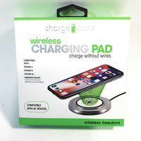 Charge Worx Portable Wireless Charger Compatible with Qi Devices