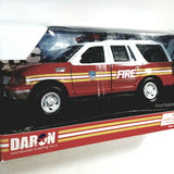 Daron New York Fire Dept Ford Expedition XLT 1/24 G Scale Diecast FDNY SUV